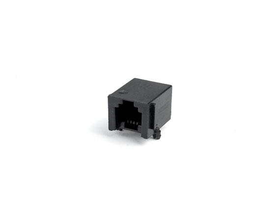 616-PCB-4P4C-90度-黑色加厚