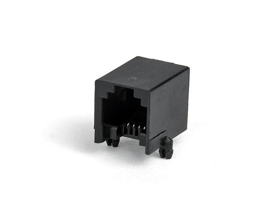 616-PCB-4p4c-90度-黑色