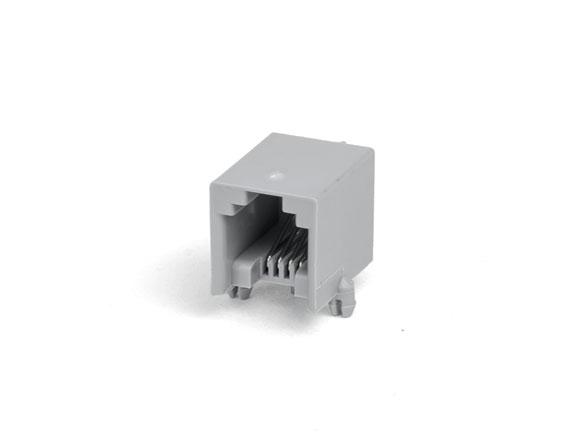 616-PCB-4P4C-90度-灰色