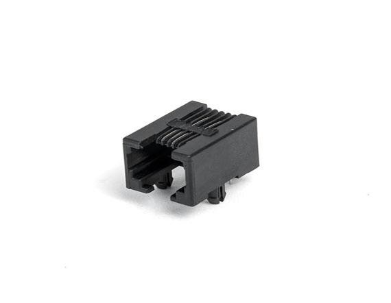 95001-6P6C-90度-黑色