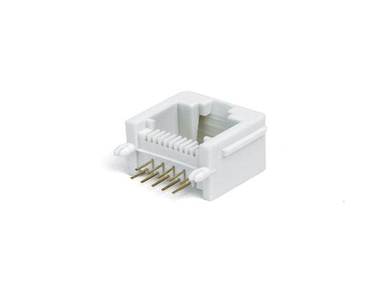PCB-10P10C -带边-90度-白色