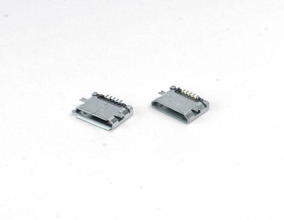 MICRO 5P全贴-B型-直边-有柱