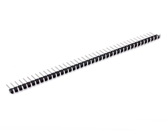 1.27单排弯针排针