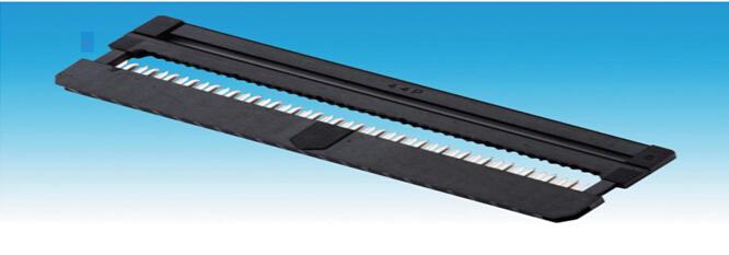 2.0mm IDC/FC三件式 牛角插头/压线头/接插件