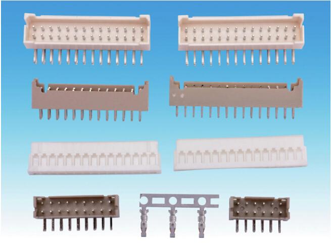 PHD2.0线对板连接器