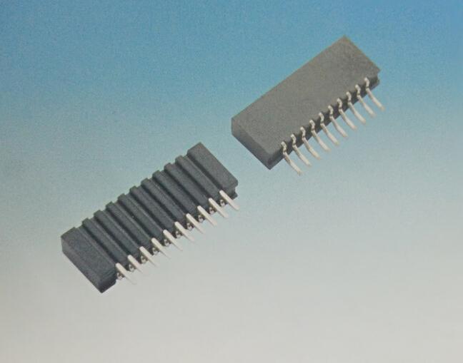 1.0FPC 卧贴双触无锁 立贴双触无锁 连接器