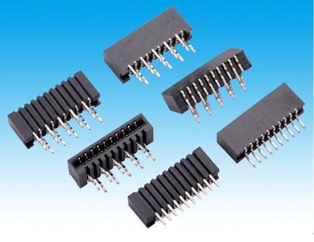 1.25FPC 单触直插 单触弯插 连接器