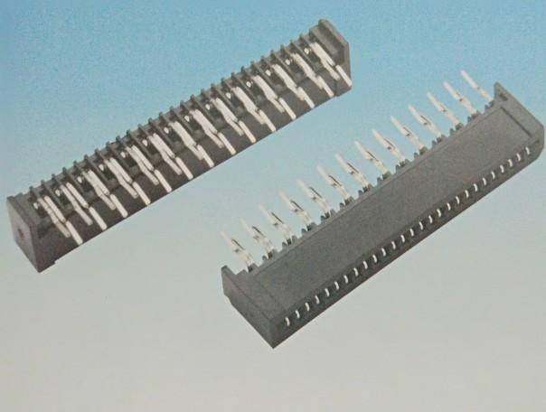 1.25FPC 米黄色 单触 直插 弯插 连接器