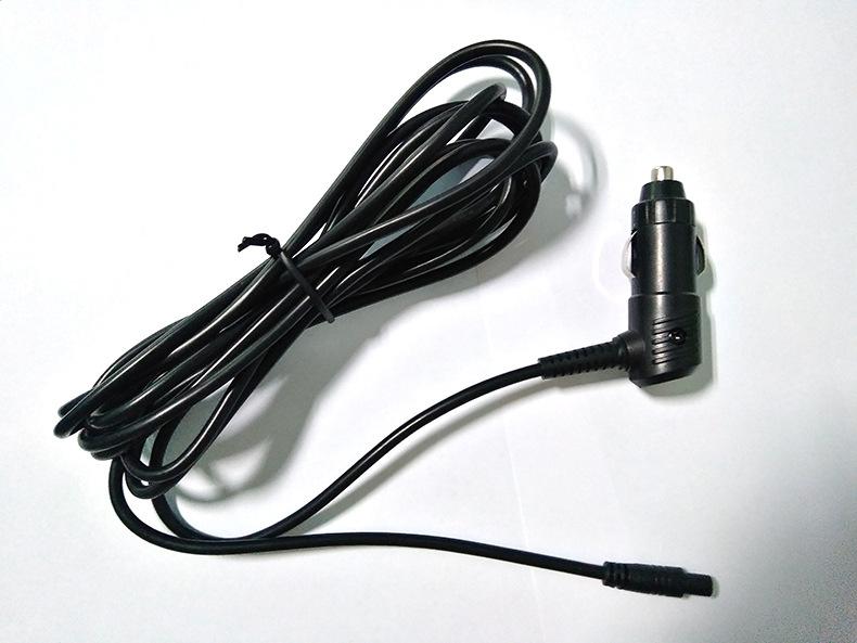 汽车电源线黑色点烟器插头线宝马点烟器连接线束