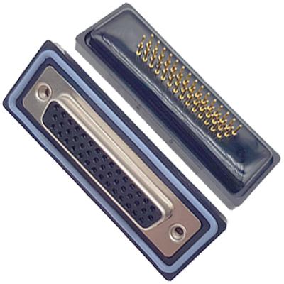 D-HDD0S44PM-A000HDDS-44P 公头 三排 铆钉 直插板 黑胶芯 防水车针