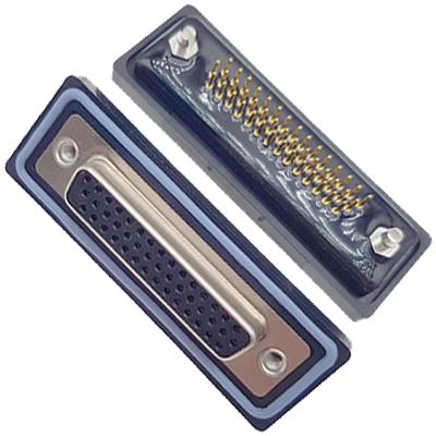 D-HDD0S44PM-B000HDDS-44P 公头 三排 铆鱼叉 直插板 黑胶芯 防水车针